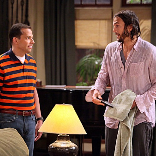 Two and a Half Men Season 9: Ashton in the Malibu Beach House