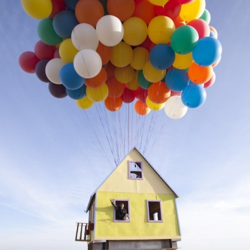 Real Life 'UP' House Flies to National Geographic Channel This Sunday