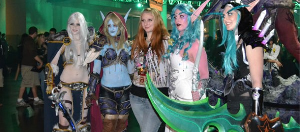BlizzCon 2011 Cosplay Banner