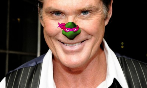 nerd reactor ninja turtles invade celebrity noses