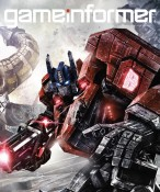Game Informer Transformers Fall of Cybertron Optimus Prime Cover