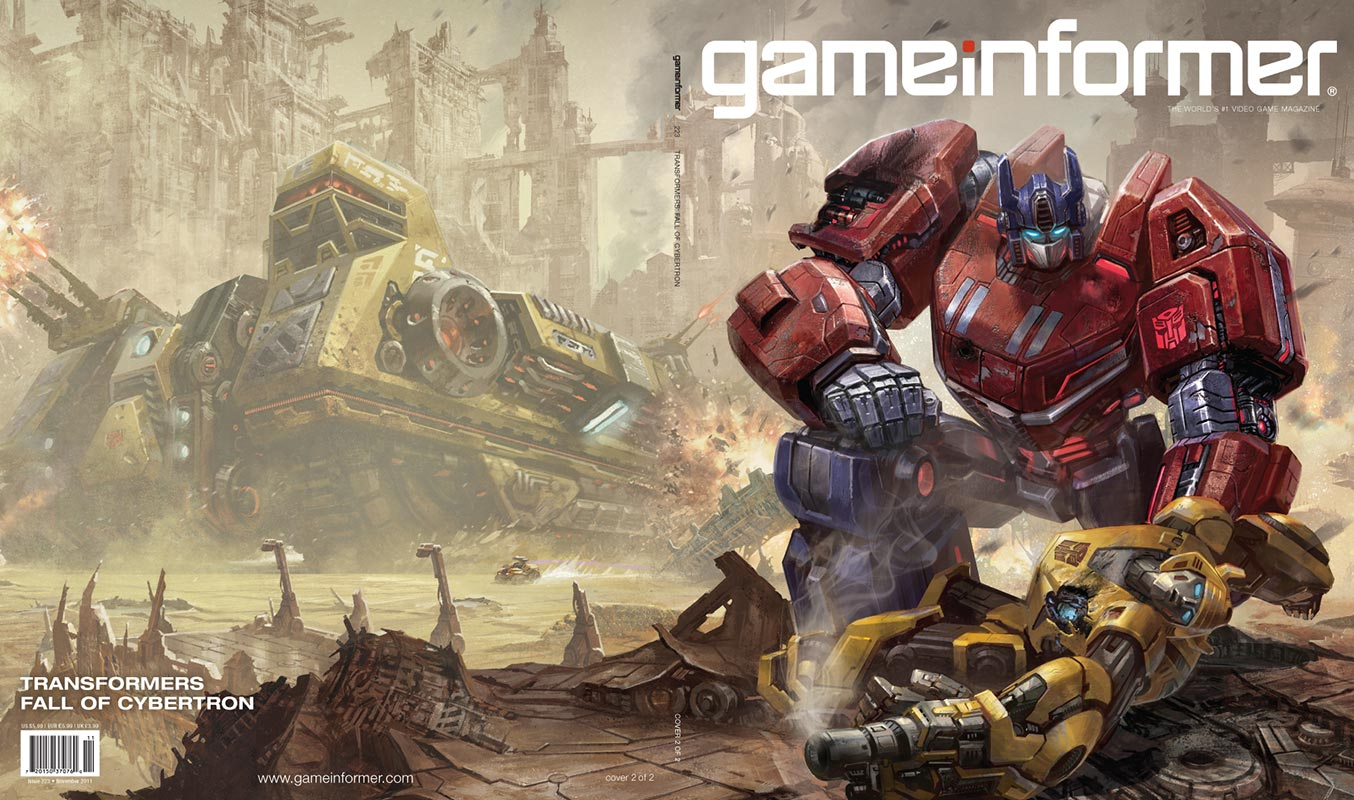 Transformers Bumblebee Games Game-informer-transformers
