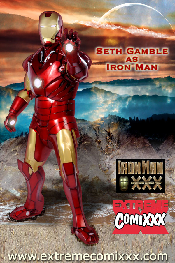 Iron Man Xxx Parody