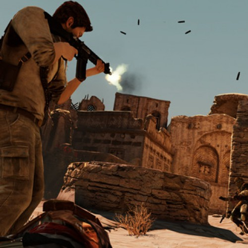 Uncharted 3's Desert Town Trailer Brings Even More Impressive, Action-Packed Gameplay