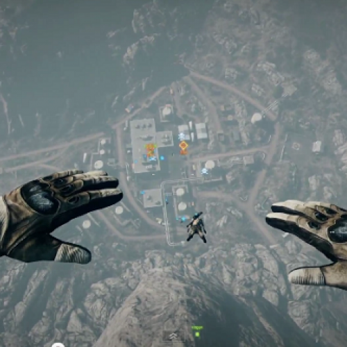 Parachute into the Enemy Base – Riveting Battlefield 3 Multiplayer Trailer