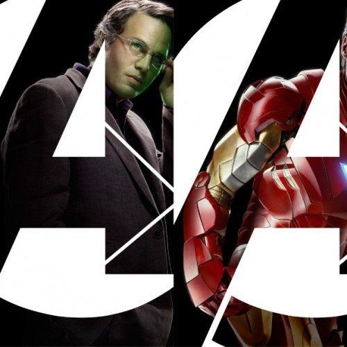 The Avengers Banner with Captain America, Iron Man, Thor, Hulk, Loki, Hawkeye, Nick Fury and Black Widow