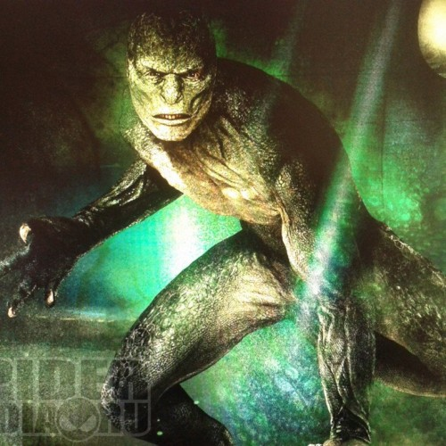 The Lizard's Concept Art Surfaces for The Amazing Spider-Man