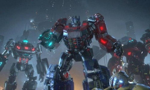 Teaser for Transformers: Fall of Cybertron Premiere on VGAs