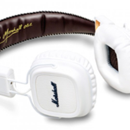 Marshall White Headphones Available Now