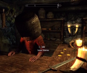 skyrim hijinks dovahkin's day off