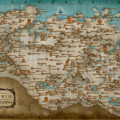 Feeling Lost? Skyrim 'Dragon Shout App' and Location Map are Here to Help