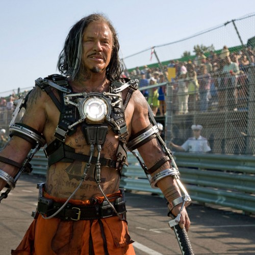 Mickey Rourke Hates on Iron Man 2 and Says a Certain Director Doesn't Have Any Balls