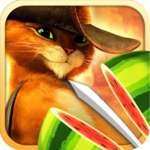 Free App of the Day – Fruit Ninja: Puss in Boots