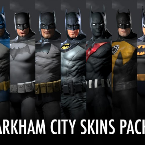 Batman: Arkham City Skins Are Now Available as a Pack