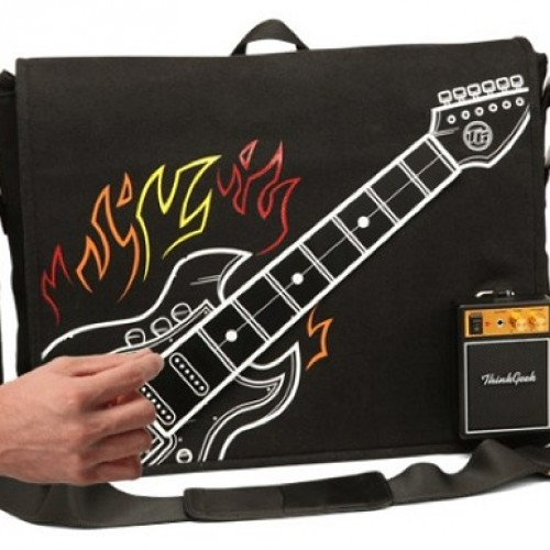 Review: ThinkGeek Electronic Guitar Bag Goes to Eleven