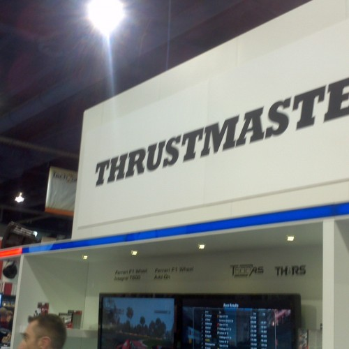 CES 2012 – Thrustmaster Gaming Product Preview