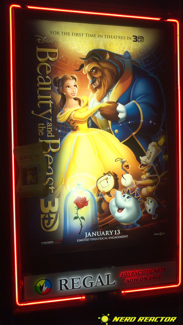 beauty and the beast in theatrical 3d review