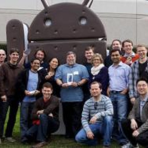 Apple Co-Founder Steve Wozniak Prefers Android over iPhone