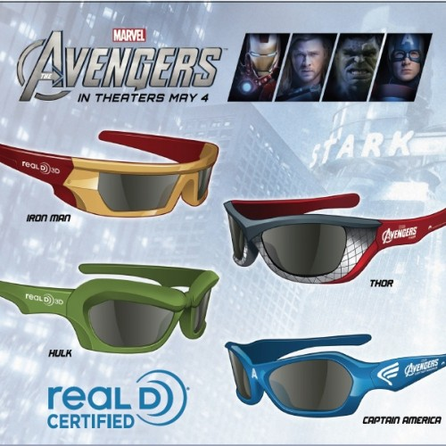 Watch The Avengers 3D in Style