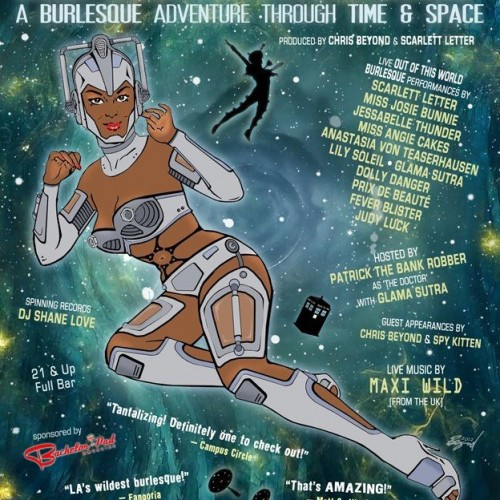 Doctor Who Burlesque Show in the LA Area This January 19th
