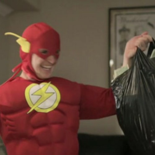 What if Flash Was Your Brother and Peed in Your Cup?