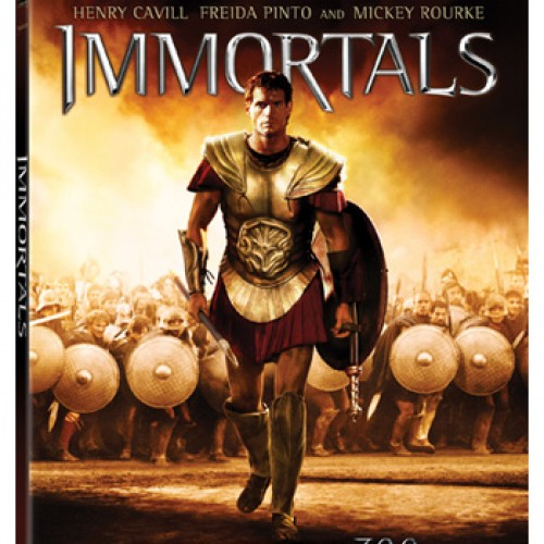 'Immortals' Heads to 3D Blu-ray, Blu-ray and DVD March 6th