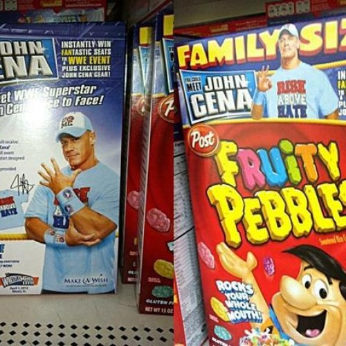 John Cena Will Be Appearing on a Box of Fruity Pebbles