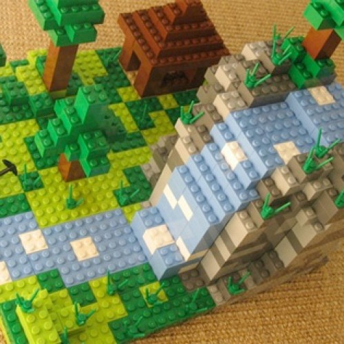 LEGO Makes Minecraft a Reality