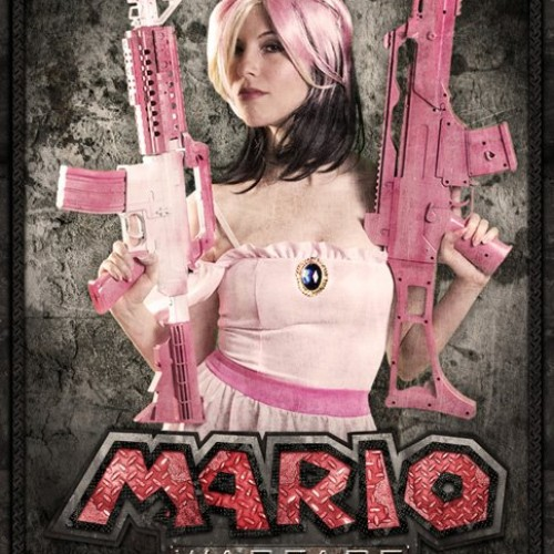 Princess Peach Gets a Poster for Mario Warfare Fan Film