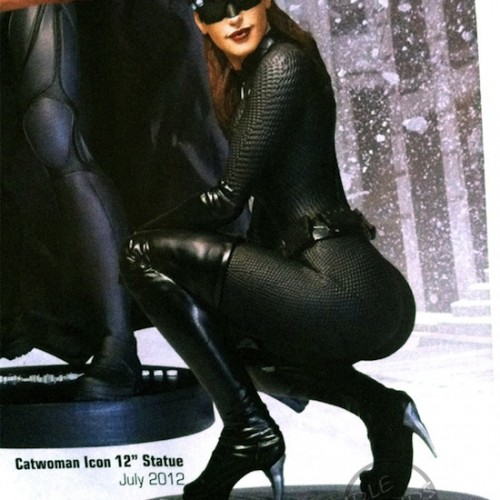 You See that Catwoman Statue? She's got Curved Heels. Curved. Heels.