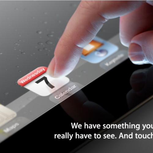 The iPad 3 is upon us