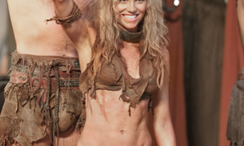 Exclusive: Spartacus Vengeance's Ellen Hollman on her warrior role, superheroes, Marvel vs. Capcom & pranking Xena