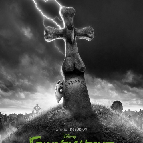 New poster for Tim Burton's Frankenweenie revealed