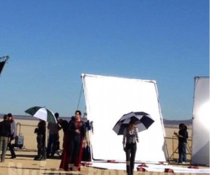 Man of Steel Set Photo