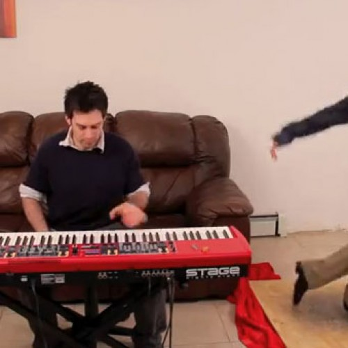 You've heard the Mario theme played by a piano, but what about tap dancing?