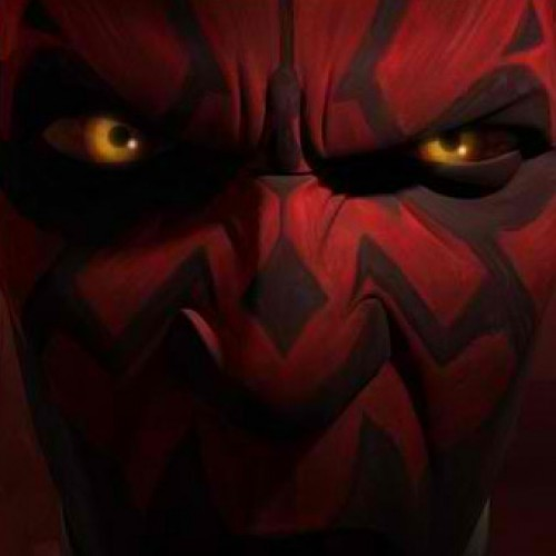 Darth Maul is back from being sliced in half