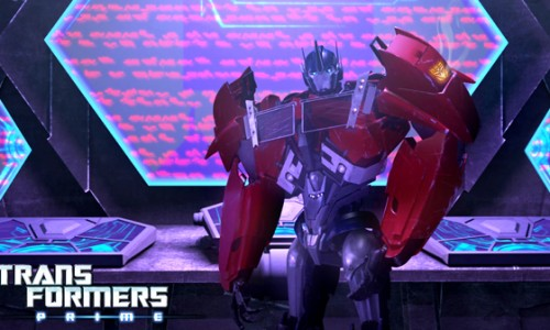 Optimus Prime is a Decepticon?! Transformers Prime Season 2 Episode 1 Review