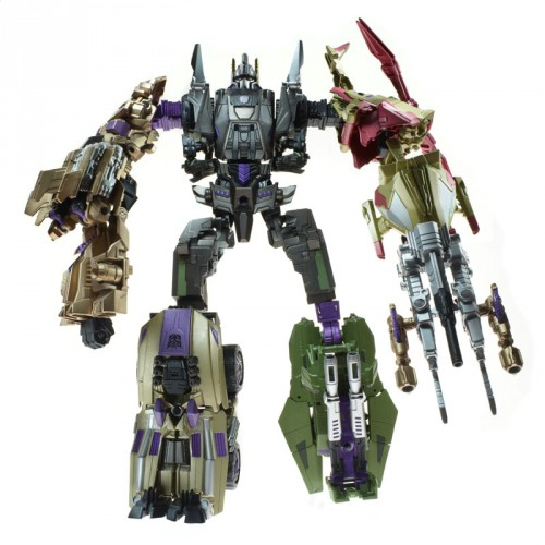 Transformers: Fall of Cybertron gets Bruticus combiner toy