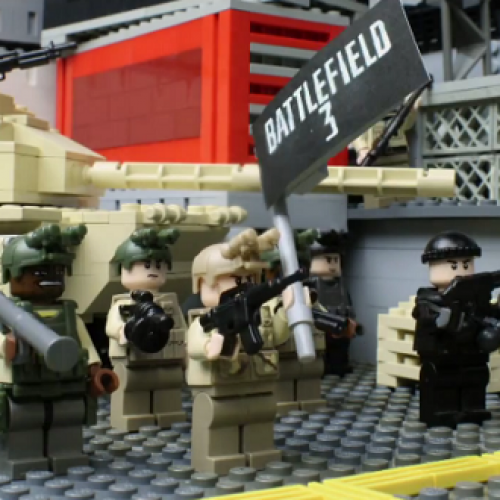 Uncharted 3, Minecraft, Skyward Sword, and 12 other games get Lego-fied in IAA video
