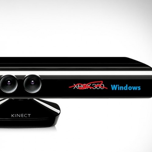 Kinect SDK 1.0 for Windows Shipping out!