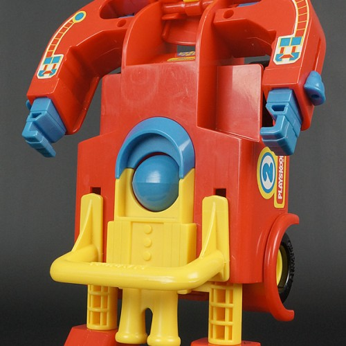Michael Bay isn't the first to put balls on Transformers