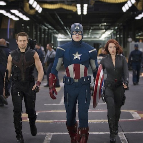 The Avengers theatrical trailer is now online!
