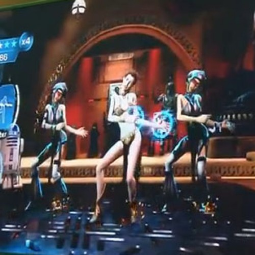What's Dance Central doing in my Star Wars game?