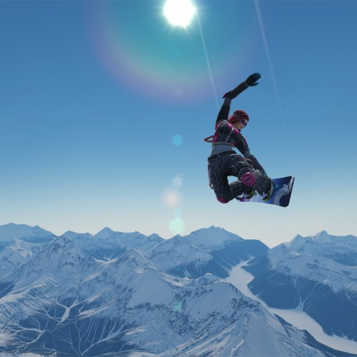 Getting tricky with the SSX demo