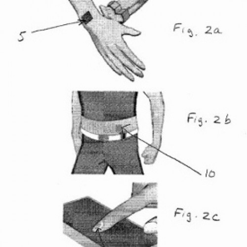 Nokia submits patent for magnetic tattoos that vibrate when your phone rings