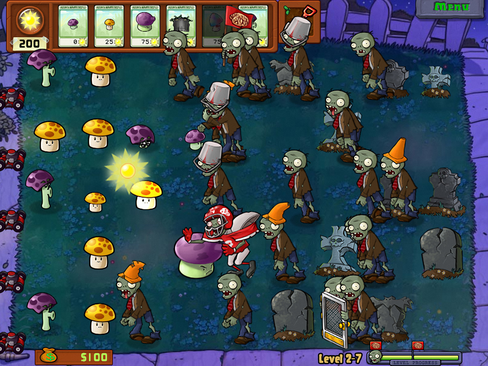 how to get plants vs zombies same game