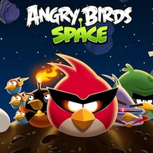 Angry Birds launch into Space today