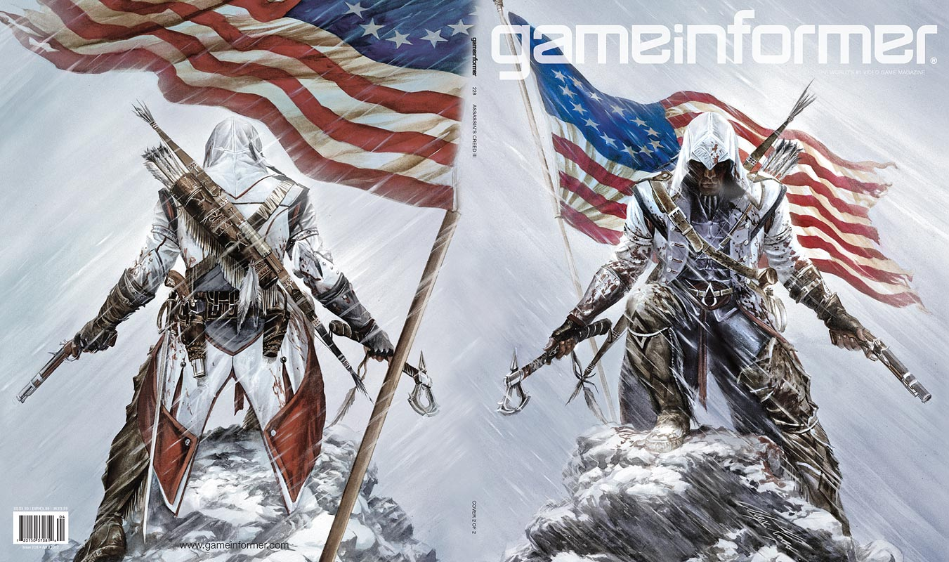 Game Informer reveals new Assassin's Creed III cover ...