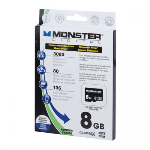 Monster Digital Micro SD card review