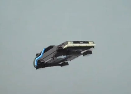 And When I Say DeLorean Flying In Real Life Mean An RC Quadrotor Modeled After The From Back To Future Well If Were Not Going Have
